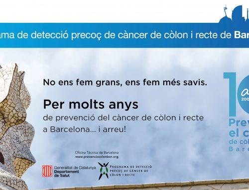 """10 anys prevenint el càncer de còlon i recte a Barcelona"""", una jornada a la Pedrera"""